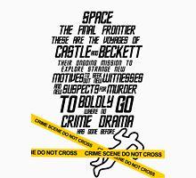Castle The Final Frontier- v1b Unisex T-Shirt