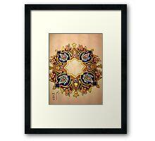 Multicolor Miniatures Framed Print
