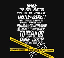 Castle The Final Frontier- v2b Unisex T-Shirt