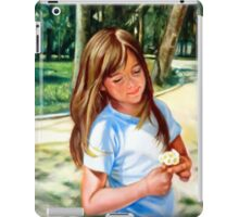 portrait of Mihaela  iPad Case/Skin