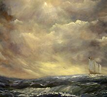 Homeward Bound After The Storm by Monica Vanzant