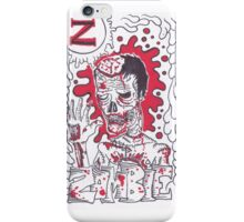 Z is for Zombie iPhone Case/Skin