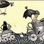 Emmet & Otis Go For A Ride by WinonaCookie