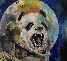Space Panda by Michael Creese