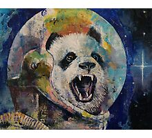 Space Panda Photographic Print