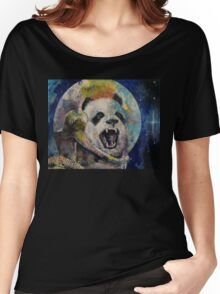Space Panda Women's Relaxed Fit T-Shirt