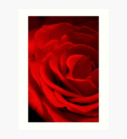 The Color of Love! Art Print