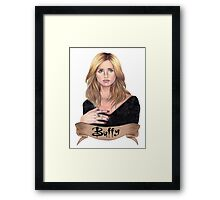 Buffy Summers Framed Print