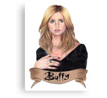 Buffy Summers Canvas Print