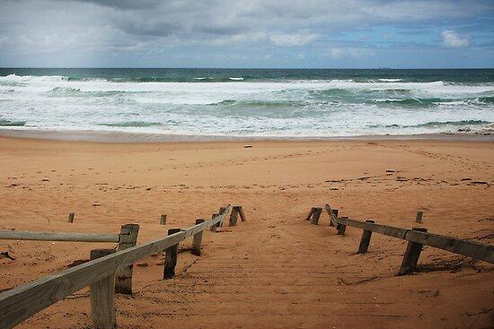St Paul's beach by Rosina  Lamberti