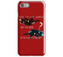 Dancing With the Devil iPhone Case/Skin