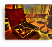 Peterson Pipes and Casino Matches Metal Print