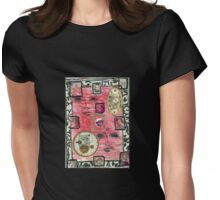 Clock Faces Womens Fitted T-Shirt