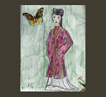 Lady With Butterfly- Asian Women Series #4 T-Shirt