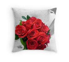 Blushing Bride Throw Pillow