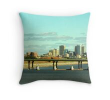 OKC Skyline Throw Pillow