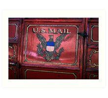 U.S Mail Art Print