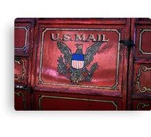 U.S Mail Canvas Print