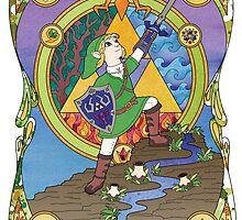 Savior of Hyrule  by AudreyMillerArt