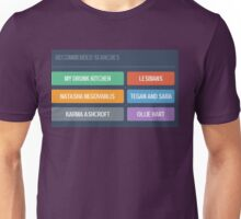 Tumblr Knows me so well Unisex T-Shirt