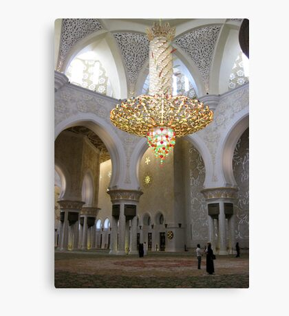 Sheikh Zayed Grand Mosque 1 Canvas Print