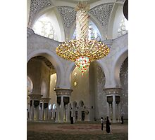 Sheikh Zayed Grand Mosque 1 Photographic Print