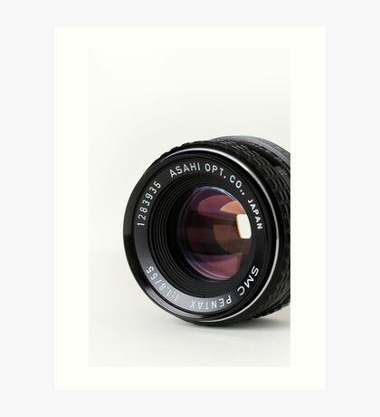 Pentax 55mm Lens Art Print