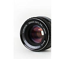 Pentax 55mm Lens Photographic Print