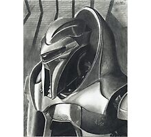 Introspection of a Cylon Photographic Print