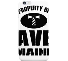 Property of Haven Maine iPhone Case/Skin