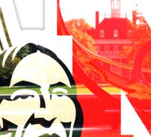 Redskin M Overlay Sticker
