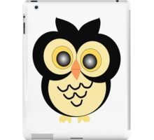Black And Gold Owl Design iPad Case/Skin