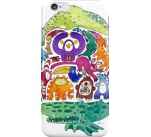 Wild Menagerie  iPhone Case/Skin