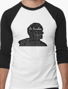 Bo Burnham Quotes Men's Baseball ¾ T-Shirt