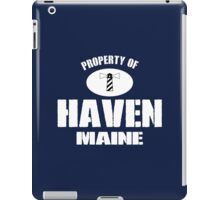 Property of Haven Maine iPad Case/Skin