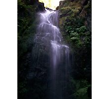 End of Ravine Waterfall Photographic Print