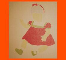 Doll- Red Dress Kids Clothes