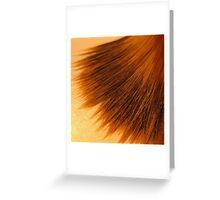 Makeup Series - Brush Greeting Card