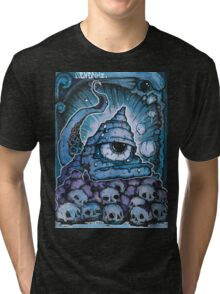 Cthonic Temple Smoke Tri-blend T-Shirt