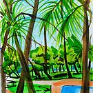 Townsville Esplanade by marlene veronique holdsworth