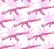 Barbie, Guns & Weed by laligz