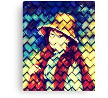 GIRL IN HAT AFTER RENOIR Canvas Print