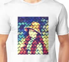 GIRL IN HAT AFTER RENOIR Unisex T-Shirt