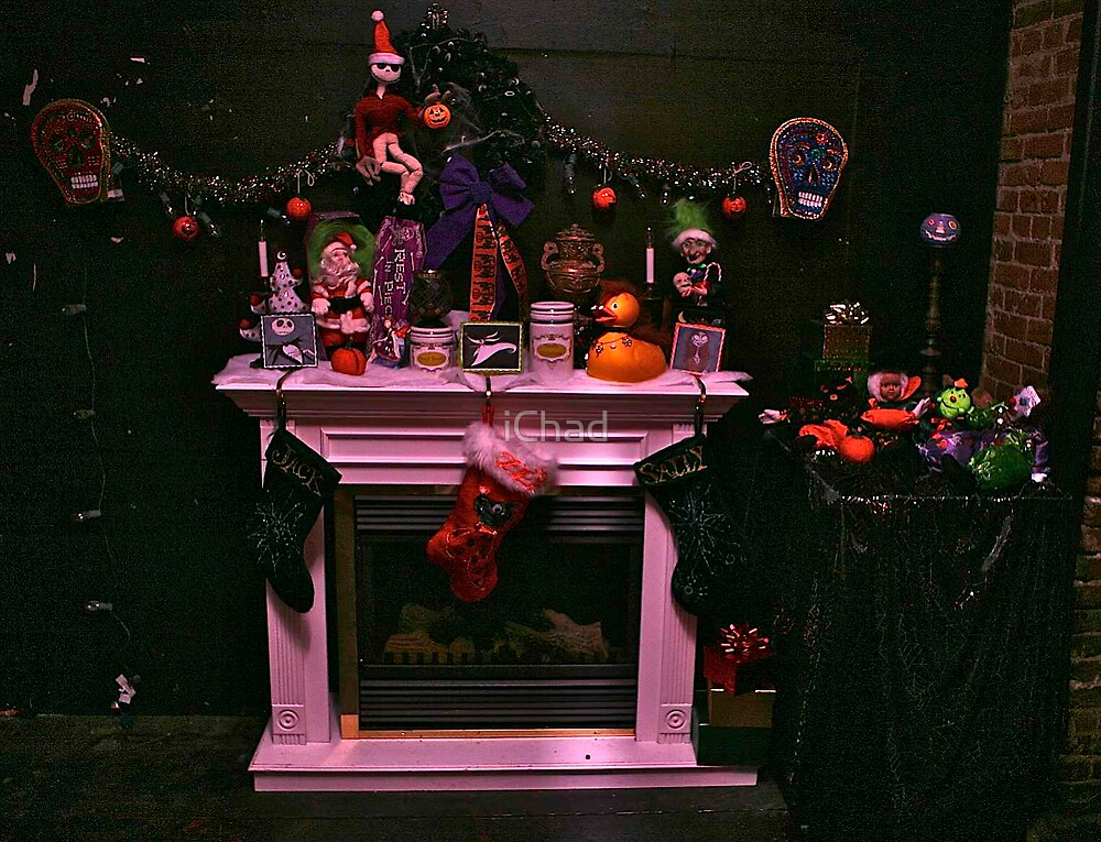 Nightmare Before Christmas Decorations By Ichad Redbubble