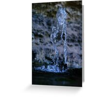 Playing with Water 1 Greeting Card