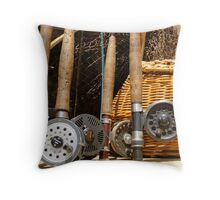 Going Fishing... Throw Pillow