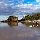 Byron Bay The Pass  by Mark Claridge