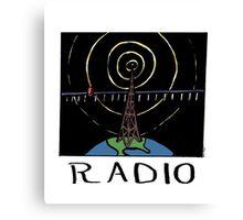 Radio Canvas Print