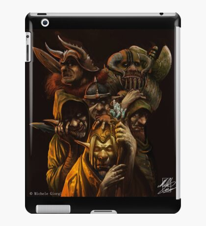 Ogres and Goblins  iPad Case/Skin