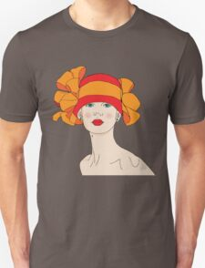 Girl in a Hat T-Shirt